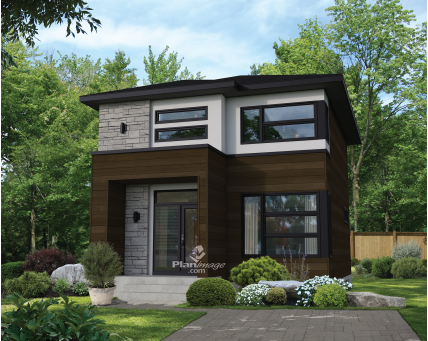 House plans - Two-storey house - New models - 21007