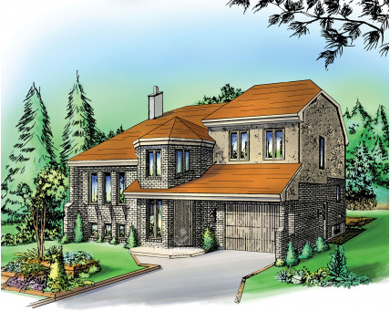 Two-storey house - 01198