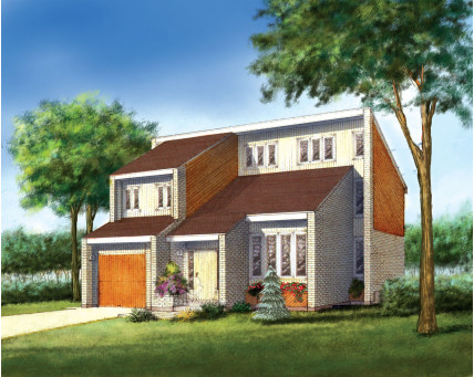 Two-storey house - 01709