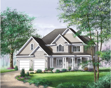 Two-storey house - 02000