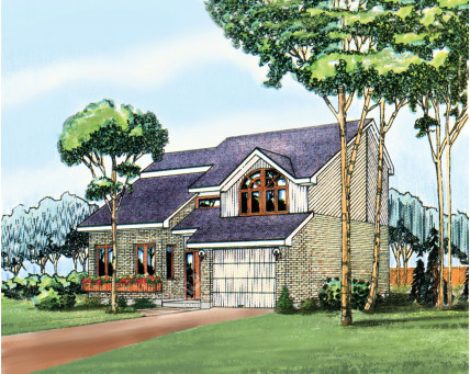 Two-storey house - 02049