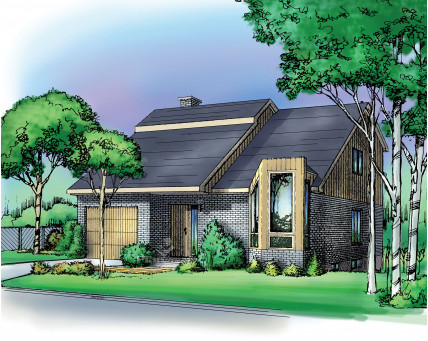 Two-storey house - 02059