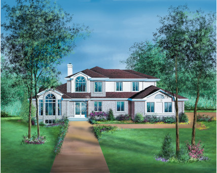 Two-storey house - 02363