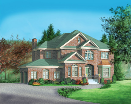 Two-storey house - 02997