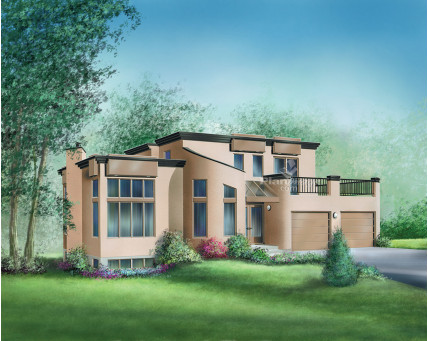 Two-storey house - 03053