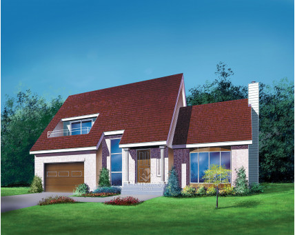 Two-storey house - 03221