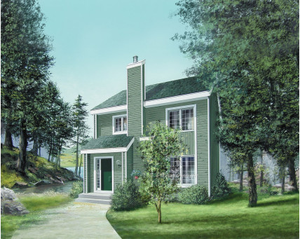 Two-storey house - 03793