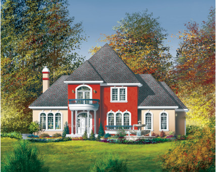 Two-storey house - 03998