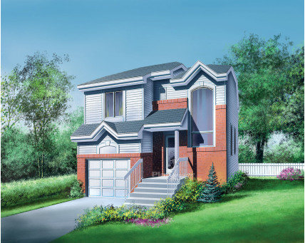 Two-storey house - 04134