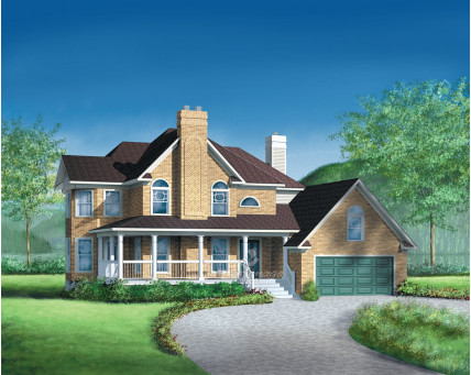 Two-storey house - 04527