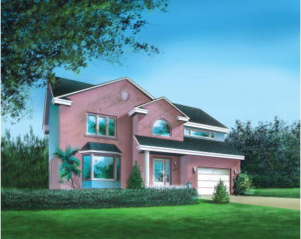 Two-storey house - 04821