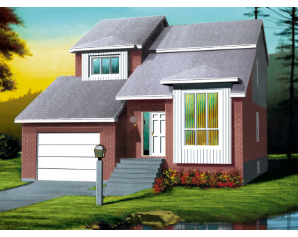 Two-storey house - 05263