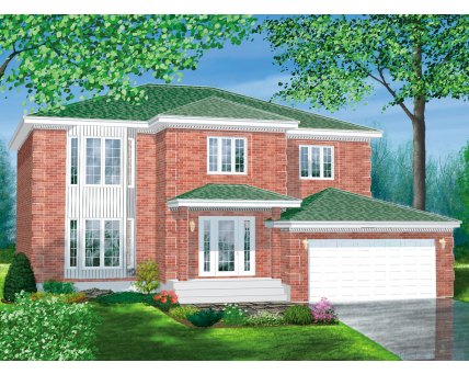 Two-storey house - 05494