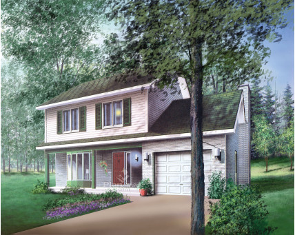 Two-storey house - 05841