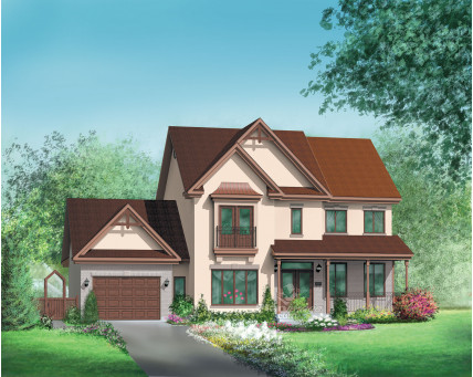 Two-storey house - 06227