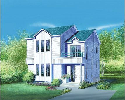 Two-storey house - 06832