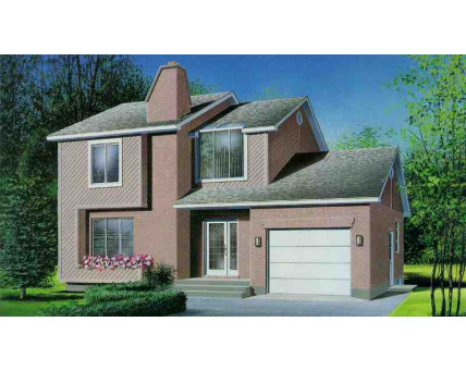 Two-storey house - 06893