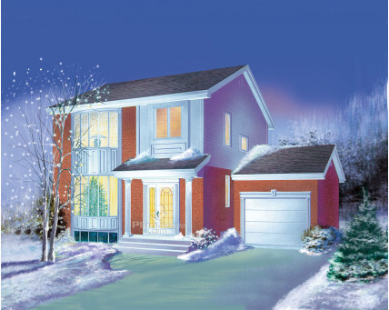 Two-storey house - 07262