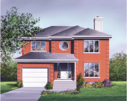 Two-storey house - 07322