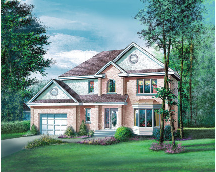 Two-storey house - 08052
