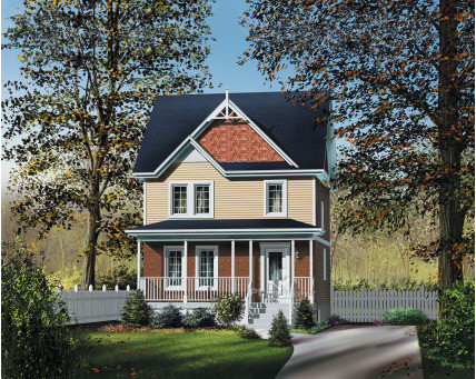 Two-storey house - 20208