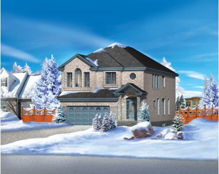 Two-storey house - 20257