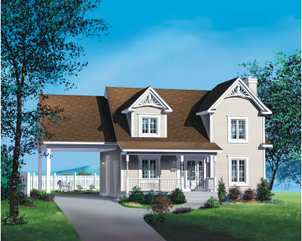Two-storey house - 20280