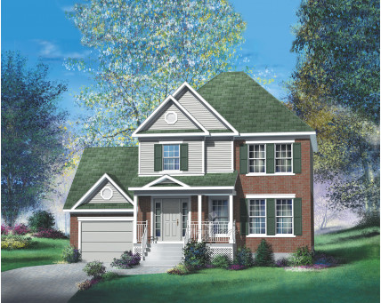 Two-storey house - 20331