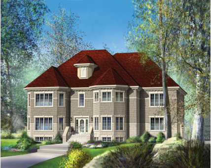 Two-storey house - 20343