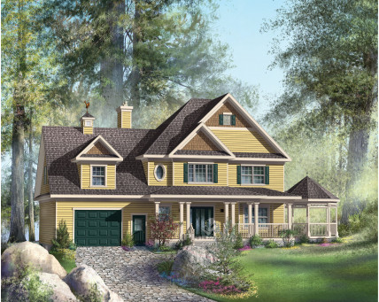Two-storey house - 20344