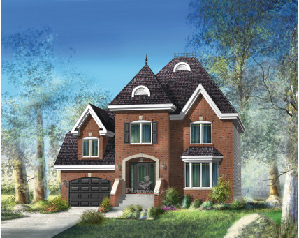 Two-storey house - 20345