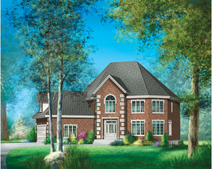 Two-storey house - 20346