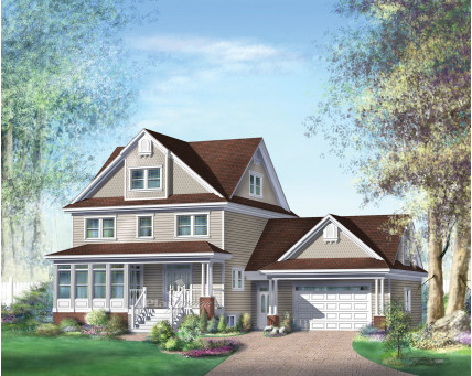 Two-storey house - 20354