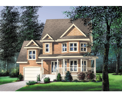Two-storey house - 20360
