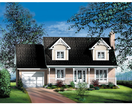 Two-storey house - 20430