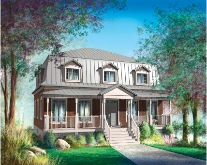 Two-storey house - 20437