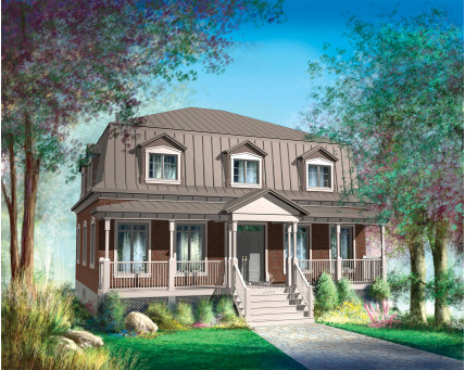 Two-storey house - 20447