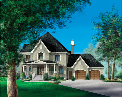 Two-storey house - 20456