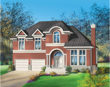 Two-storey house - 20500