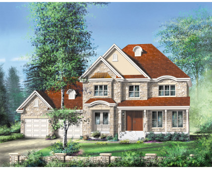 Two-storey house - 20540