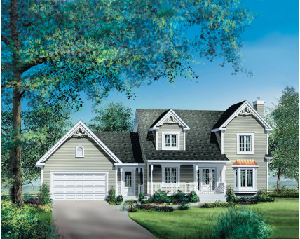 Two-storey house - 20551