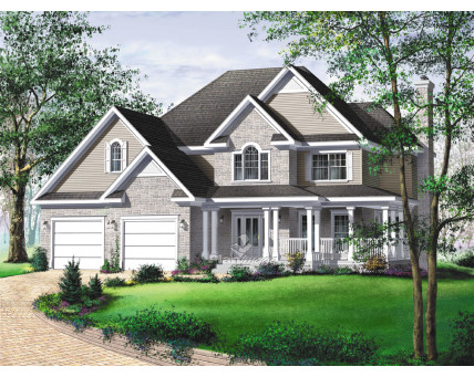 Two-storey house - 20581