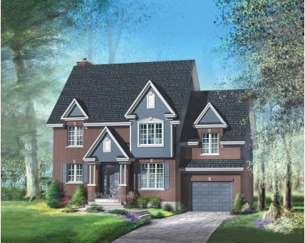 Two-storey house - 20584