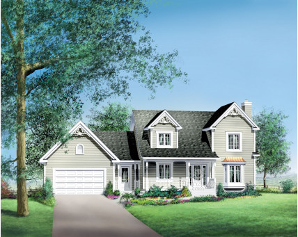 Two-storey house - 20630