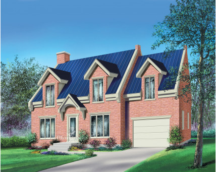 Two-storey house - 20660