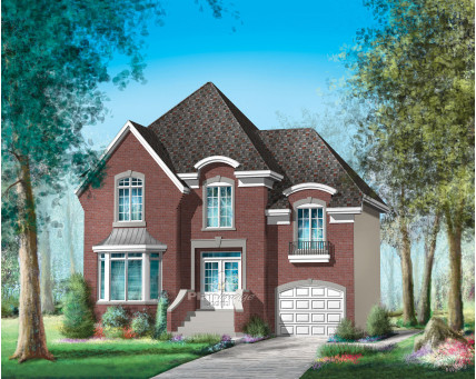 Two-storey house - 20667
