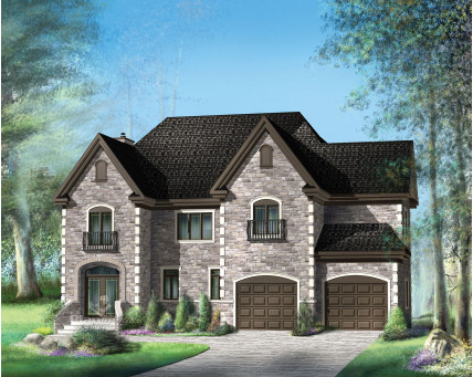 Two-storey house - 20704