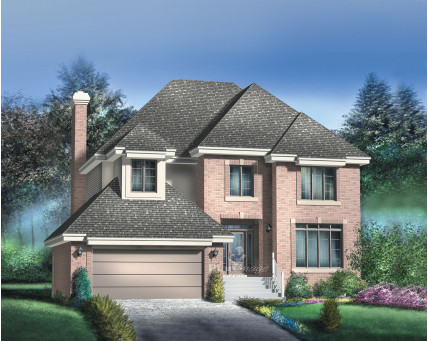 Two-storey house - 20712