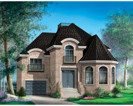Two-storey house - 20777