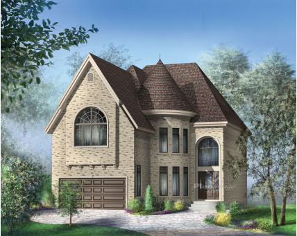 Two-storey house - 20814
